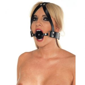 rimba ball gag and head harness